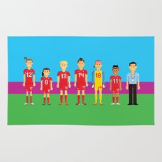 Pixel Players Canada Rug