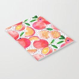 Citrus Love #digitalart #citrus Notebook
