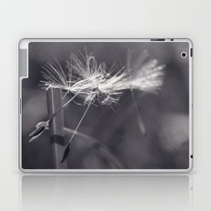 please stay with me (black and white) Laptop & iPad Skin