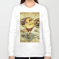 ballet Long Sleeve T-shirts featuring Ballet by José Luis Guerrero