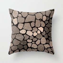 Stone texture 2 Throw Pillow