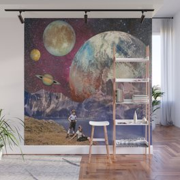 Outer Limits Digital Collage Wall Mural