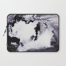 titanium white / carbon black / silver Laptop Sleeve