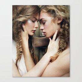Roxy & Claire Canvas Print