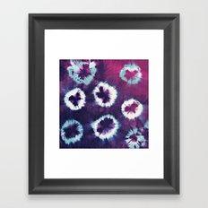 Tie-Dye I Framed Art Print