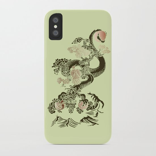 Shen-Lung iPhone Case