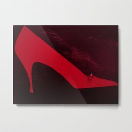 A Girl Can't Have Too Many Shoes! Metal Print