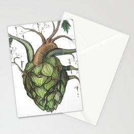 Hops Heart Stationery Cards