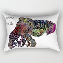 Wanna Cuttle Rectangular Pillow