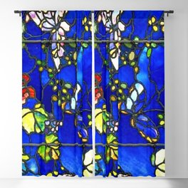 "John La Farge ""Butterflies and Foliage"" window. 1889 (1.) Blackout Curtain"
