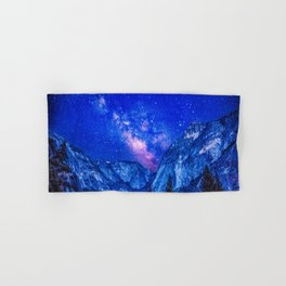 Milky Way Over Mountain Hand & Bath Towel