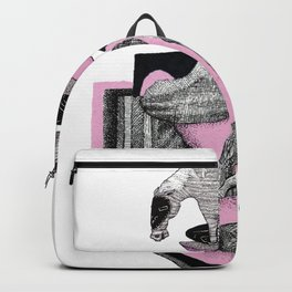 pink wild horse Backpack