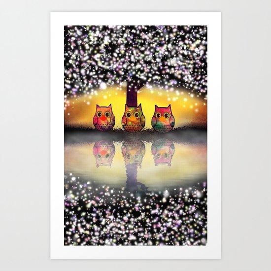 cat-99 Art Print