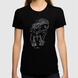 Libra zodiac sign T-shirt