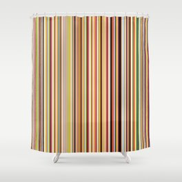 Old Skool Stripes Shower Curtain