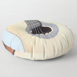 Classical Guitar Floor Pillow