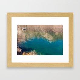Convict Lake Anglers Framed Art Print
