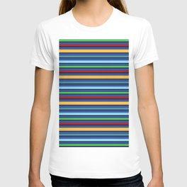 Toucan Blue Stripes T-shirt