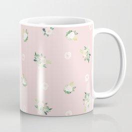 pink florals Coffee Mug