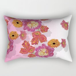 Peony Festivity Rectangular Pillow