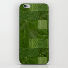 summer foliage iPhone Skin