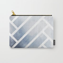 winter herringbone Carry-All Pouch
