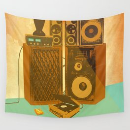 RECORD ROOM Wall Tapestry