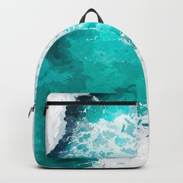 Beach Illustration Backpack