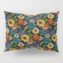 Chrissy Flowers Bohemian Pillow Sham