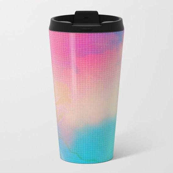 Glitch 06 Metal Travel Mug