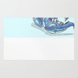 Baby Sapphire Dragon Rug