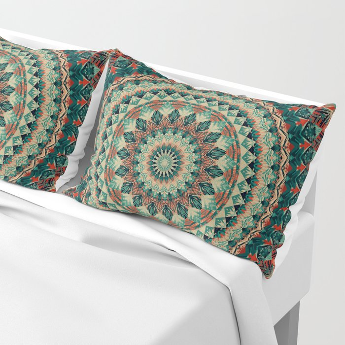 Mandala 585 Pillow Sham