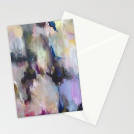Colourful Abstract - Grandma's Garden Stationery Cards