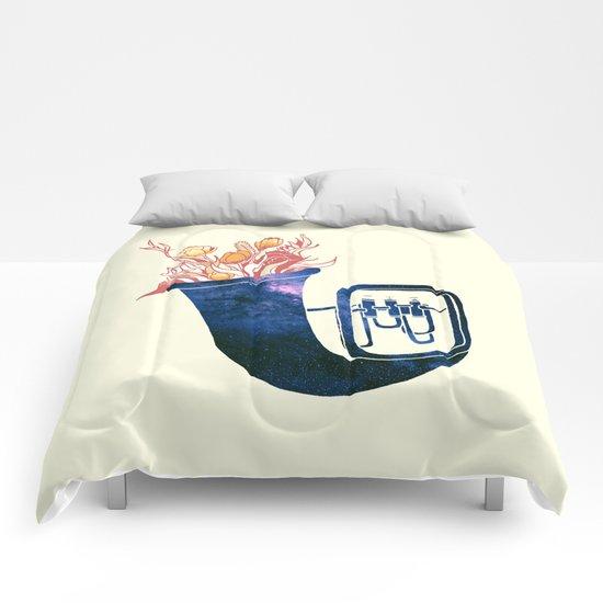 Natural Trumpet Comforters
