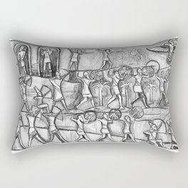 I Come in Peace Rectangular Pillow