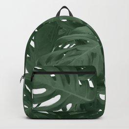 Monstera Jungle Paint Backpack