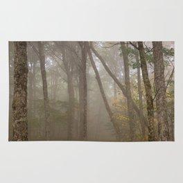 Misty Spruce Knob Forest Rug