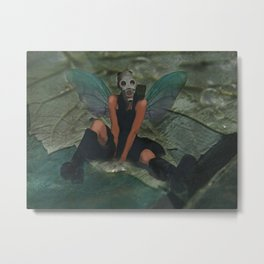 Urban Fairy Metal Print