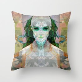 machina ex femina Throw Pillow