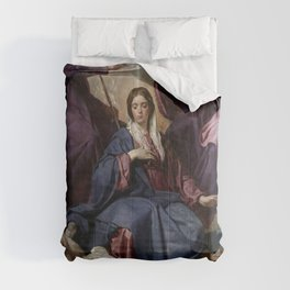 "Diego Velázquez ""Coronation of the Virgin"" Comforters"
