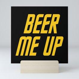 Beer Me Up Mini Art Print
