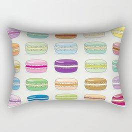 Colorful macaroon set Rectangular Pillow
