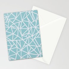 Ab Outline Salt Water Stationery Cards