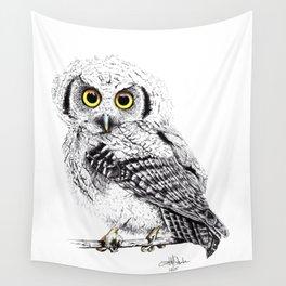 Pretty Little Owl Wall Tapestry