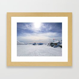 Little Whistler Peak Framed Art Print