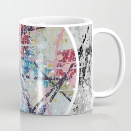 Crossroads No.3 - black and white Coffee Mug