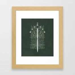Flame of the West Framed Art Print