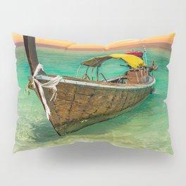 Longboat Sunset Thailand Pillow Sham