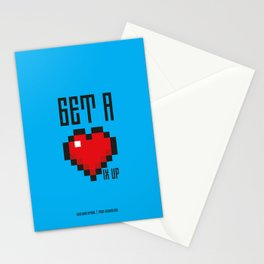 PAUSE – Get a Life Stationery Cards
