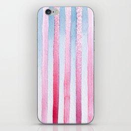#34. ALEXANDRA - Stripes iPhone Skin